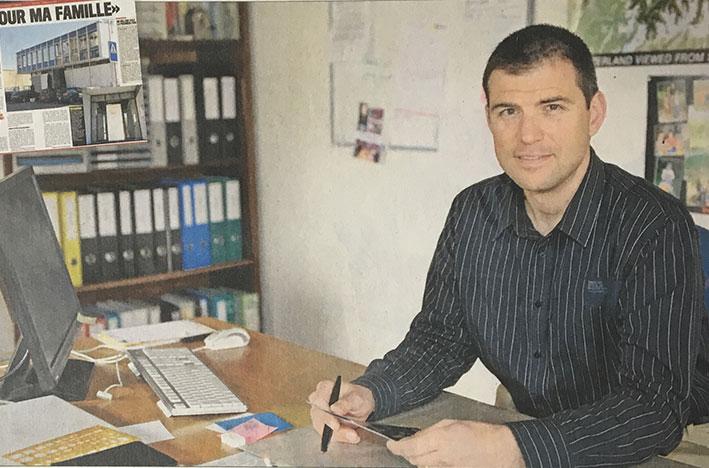 Frederic Etter Le Matin