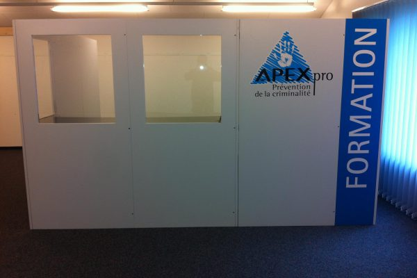 Stand de formation mobile